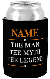 Personalized Name The Man The Myth The Legend Can Cooler