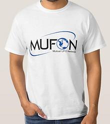 MUFON UFO network T-shirt