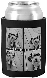 4 Photo Collage  Can Cooler
