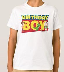 Toy Story   Birthday Boy - Name & Age T-Shirt