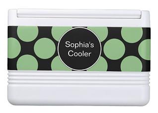 Polka Dot Stylish Ladies Drink Cooler
