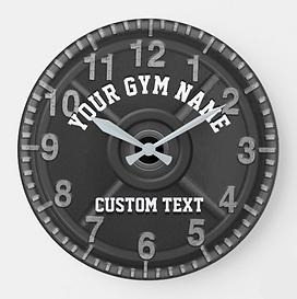 Custom Gym Clock