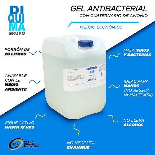 Gel Antibacterial Cuaternarios de Amonio PO 20L