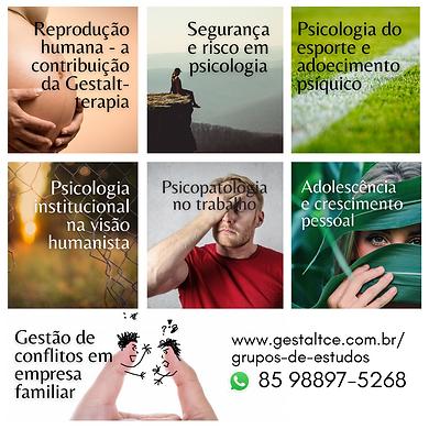 Grupos de Estudos em Gestalt-terapia têm início em 2020