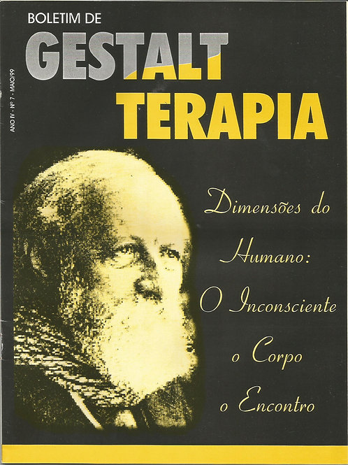 Boletim de Gestalt-terapia - Ano IV - Nº. 07