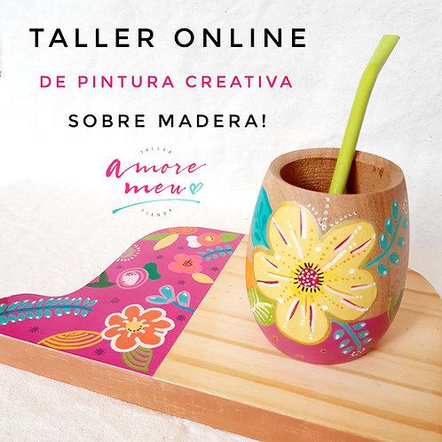 Taller Online de Pintura Creativa sobre madera!