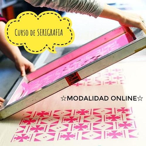 Curso online de SERIGRAFIA!