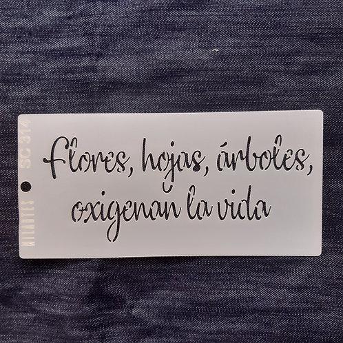 Flores, hojas, arboles...