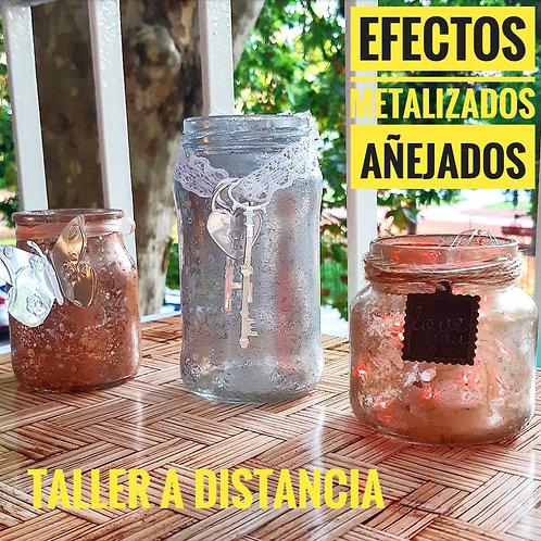 Imitación Efectos Metalizados Añejados +Técnica DECO HOME
