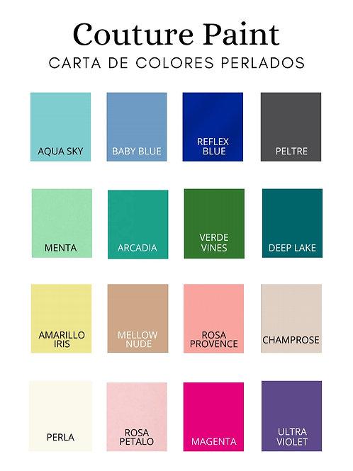 Couture paint perladas