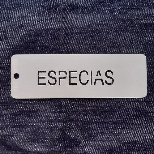 Especias