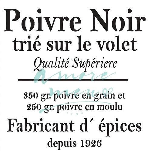 S28 - POIVRE NOIR