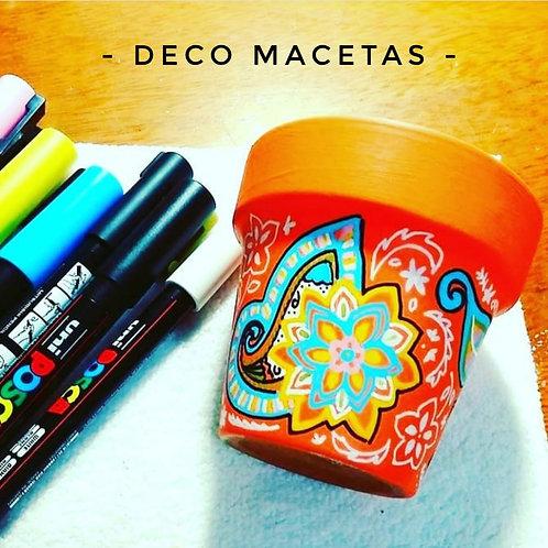 Curso Online de DECO MACETAS