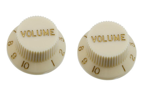 SET OF 2 PLASTIC VOLUME KNOBS FOR STRATOCASTER®