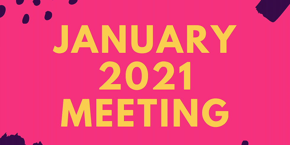 January 2021 Monthly Meeting