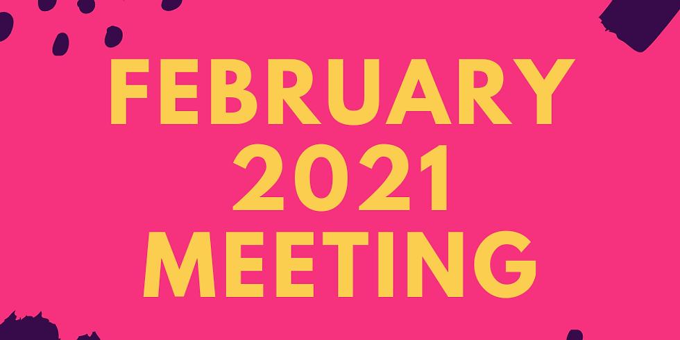 February 2021 Meeting