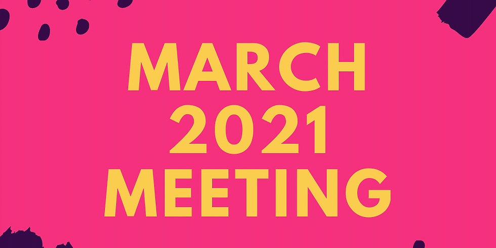 March 2021 Meeting