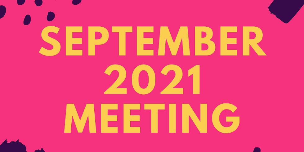 September 2021 Meetng