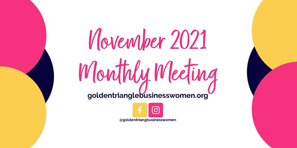 November 2021 Meeting