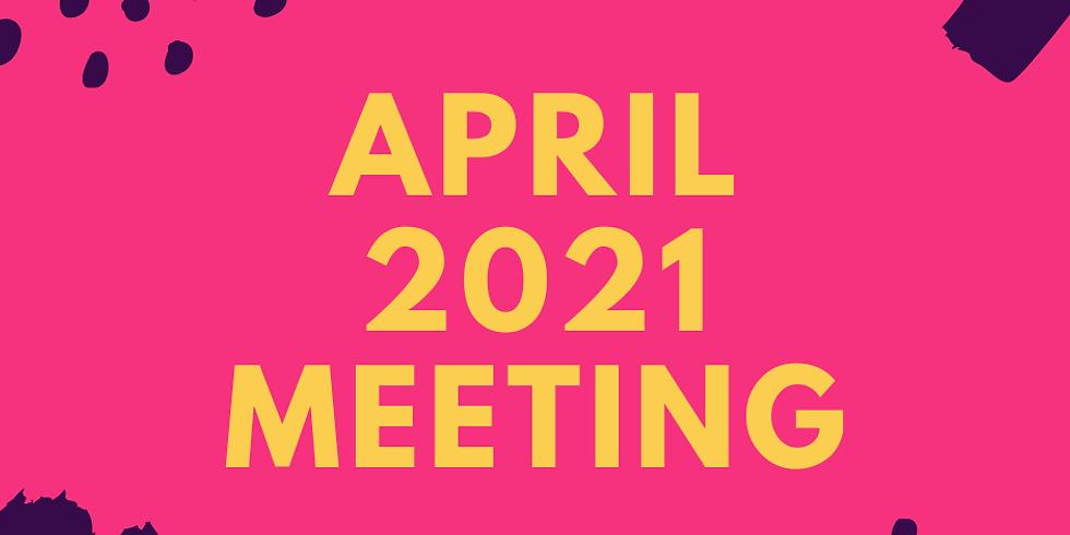 April 2021 Meeting