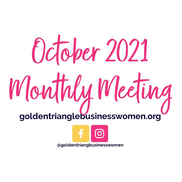 October 2021 Meeting