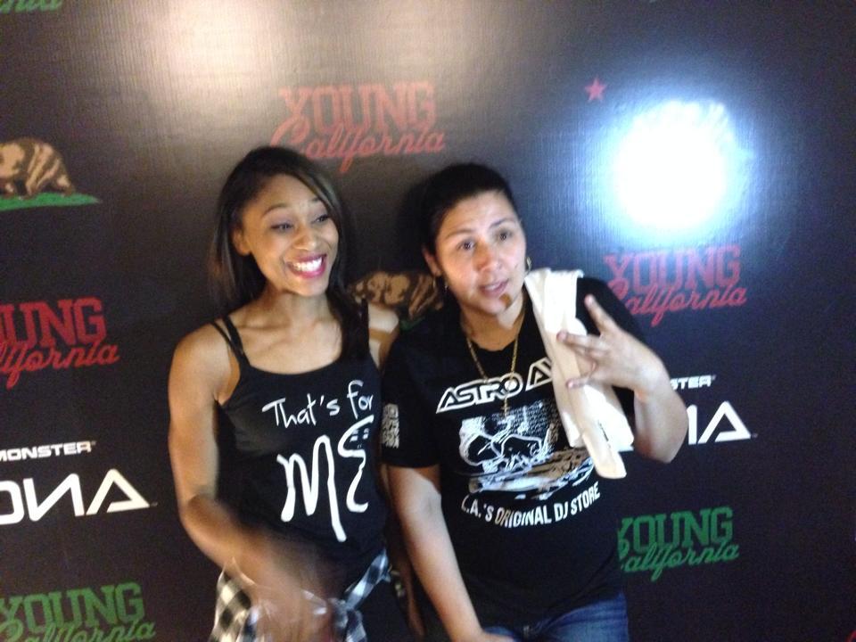 ieshia and dj carisma