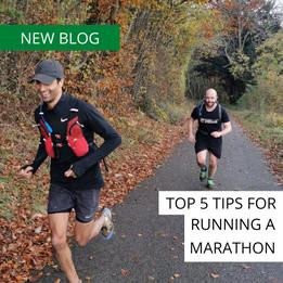 Coach Ollies Top 5 tips for running a marathon