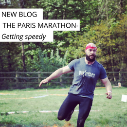 The Paris Marathon- Getting speedy