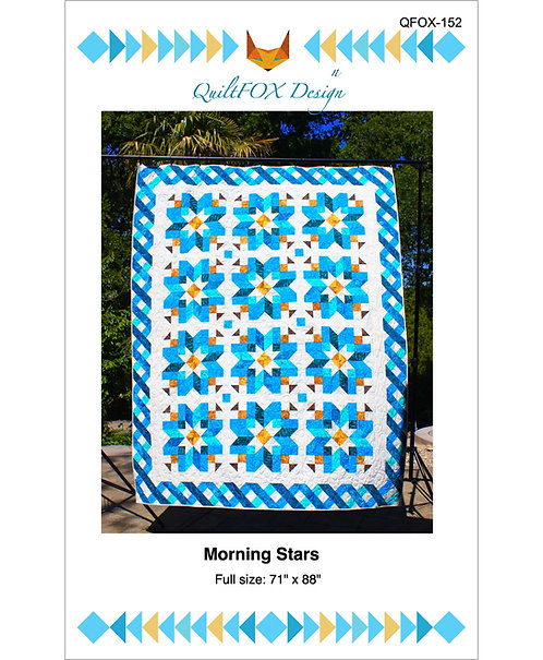 "Morning Stars, size: 71"" x 88"""