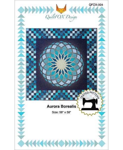"""Aurora Borealis, size: 58"""" x 58"""""""