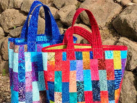 Colorful Market Totes
