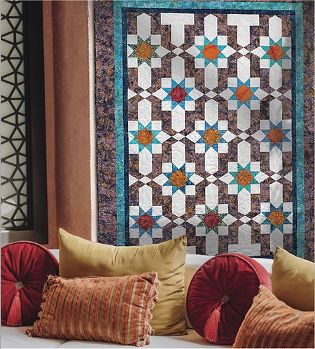 "Andalusia, size: 69"" x 93"""