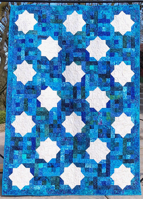"""Moroccan Tiles - size: 64"""" x 90"""""""