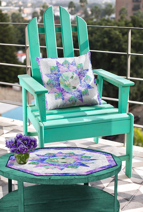 The Scent of Spring, Table topper and Pillow case