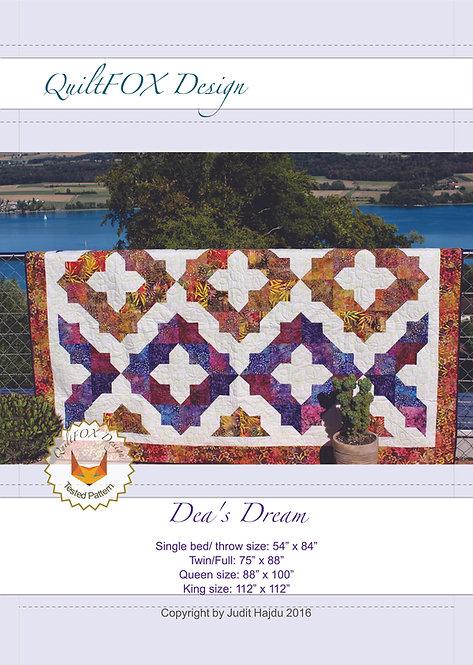 """Dea's Dream, sizes: 54"""" x 84"""", 75"""" x 88"""", 88""""x 100"""", 112"""" x 112"""""""