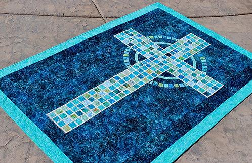"""Mosaic Cross, size: 41"""" x 59"""""""