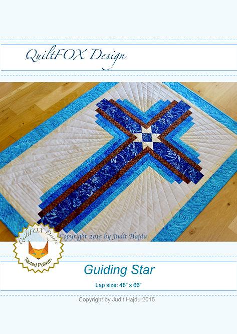 "Guiding Star, lap size: 48"" x 66"""