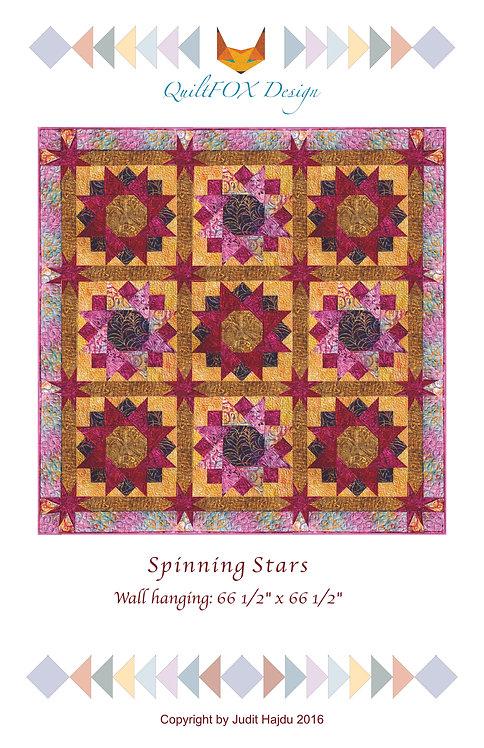 "Spinning Stars, size: 66"" x 66"""