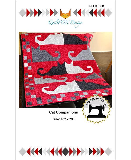 "Cat Companions, size: 60"" x 73"""
