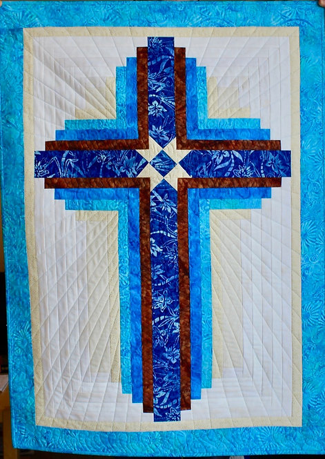 "Guiding Star, wall hanging size: 31"" x 43"""