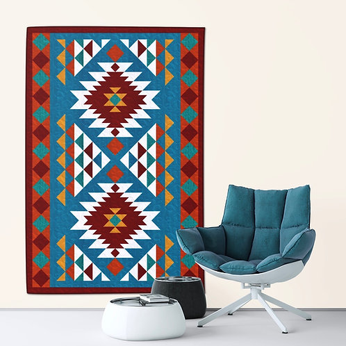 "Navajo Throw, size: 56"" x 78"""