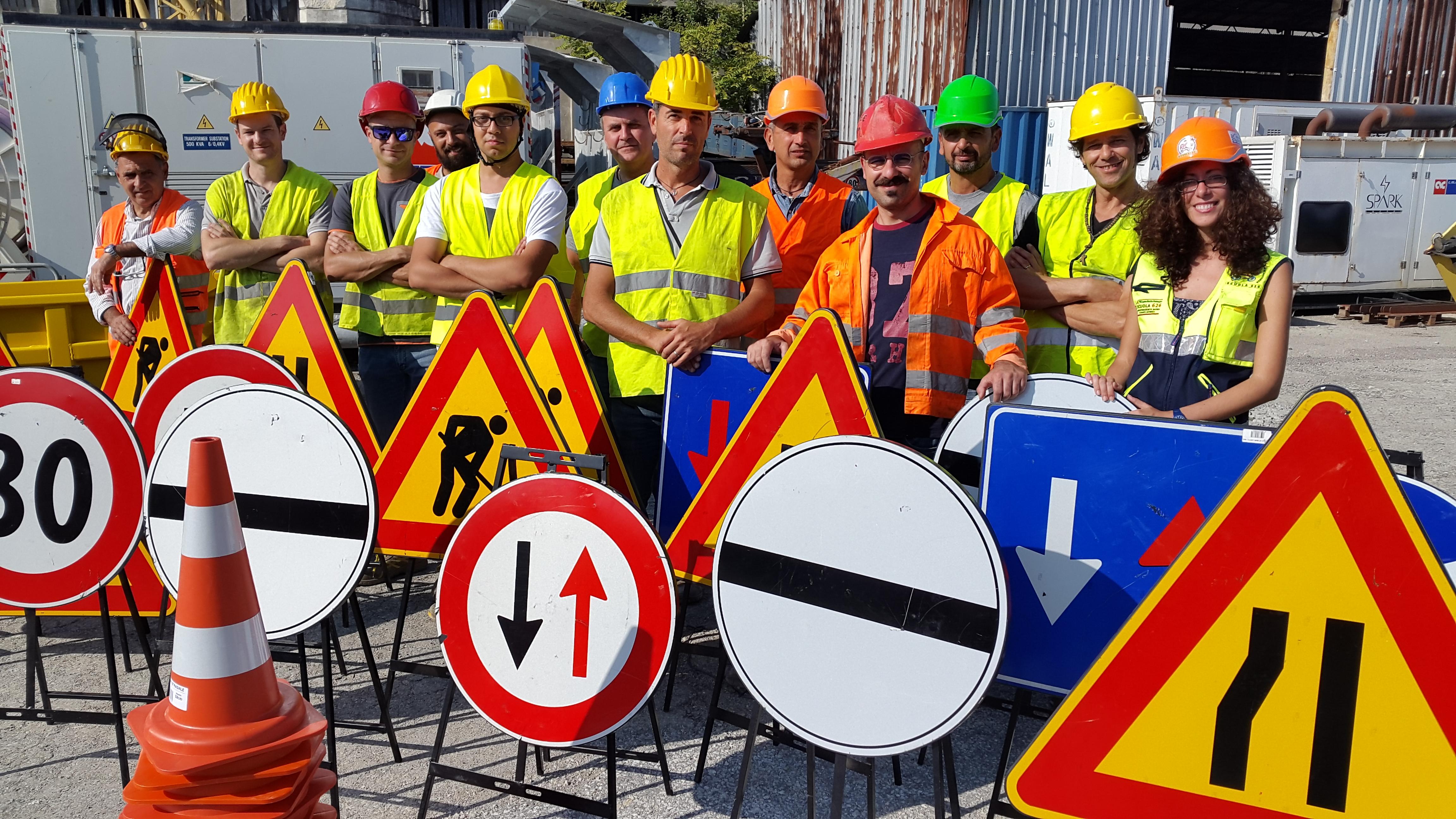 Corso segnaletica stradale-