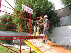 Corso lavori in altezza su tetti-11