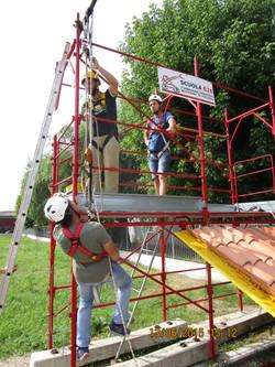 Corso lavori in altezza su tetti-13