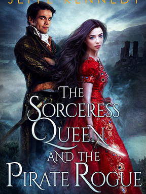 Cover Reveal: The Sorceress Queen and the Pirate Rogue