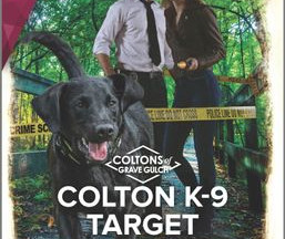 Review & Excerpt: Colton K-9 Target by Justine Davis