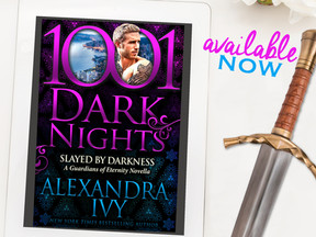 Blog Tour: Slayed by Darkness by Alexandra Ivy