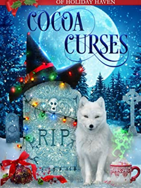 Review: Cocoa Curses: A Christmas Paranormal Cozy Mystery by Erin Johnson