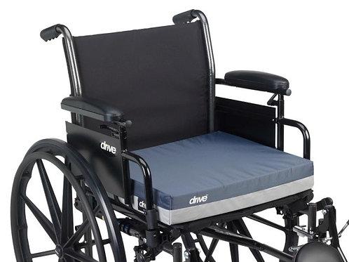 """Coussin pour fauteuil roulant Gel """"E"""" Skin Protection 3 """"Gel / mousse"""