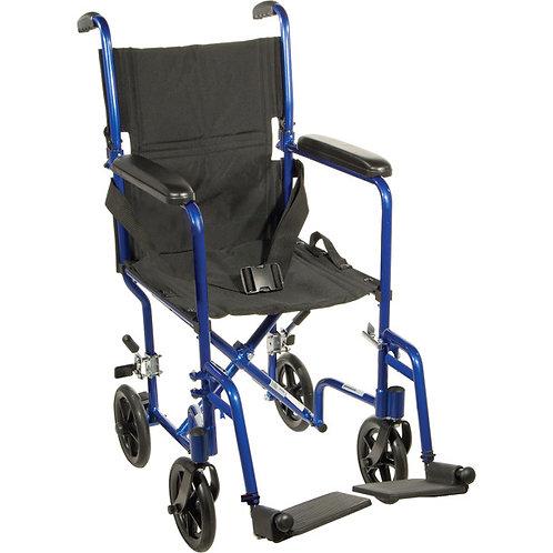 Chaise de transport en aluminium